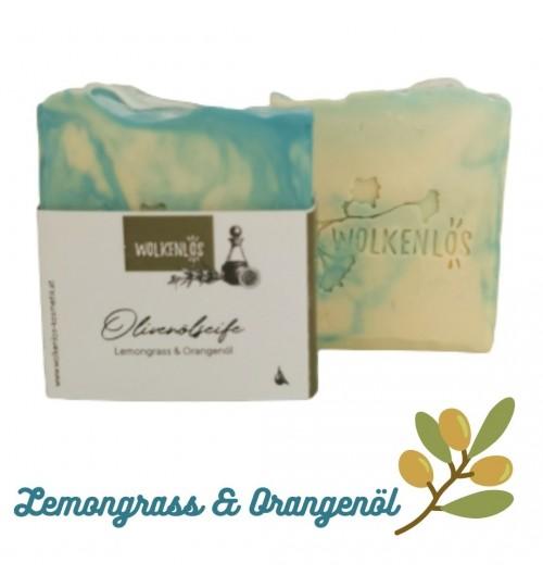 Olivenölseife Lemongrass-Orangenöl