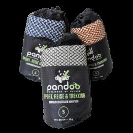 aktivkohle handtuch pandoo aus bambus reisehandtuch