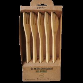 bambus besteck nachhaltig gabeln