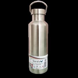 Retro Edelstahl - Flasche 700ml Doras
