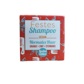Festes Haarshampoo – Zimt & Sternanis