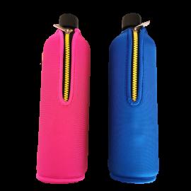 Glasflasche mit Neoprenschutz 700ml Doras