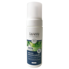 lavera naturkosmetik men sensitive rasierschaum