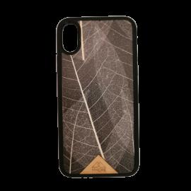 Handyhülle – Skelett Blätter
