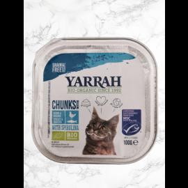 natürliches katzenfutter bio yarrah fisch