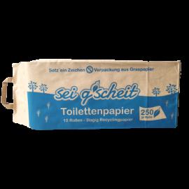 Toilettenpapier Recycling – Sei g'scheit