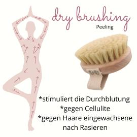 dry brushing shy deer nachhaltige