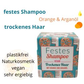 trockenes haar orange  naturkosmetik festes haarshampoo wien