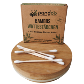 wattestäbchen bio baumwolle nachhlatig bambus