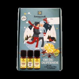 Naturkosmetik nachhaltige Geschenkideen 3 ätherische Öle