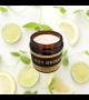 natürliche Lemon - Sojawachskerze