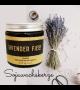 natürliche Lavendel - Sojawachskerze