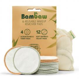 Abschminkpads / Wattepads wiederverwendbar - 16 Stück - Bambaw