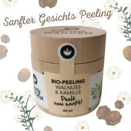 Peeling mit Walnuss & Kamille – Bio – Beauty Garden