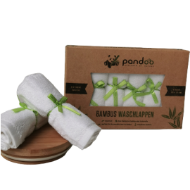 Bambus Waschlappen - Pandoo