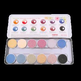 Natürliche Wassermalfarben - Memo