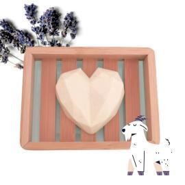 Ziegenmilchseife Lavendel & Geranienöl - Wolkenlos
